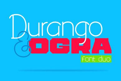 Durango  Ogra Font Duo