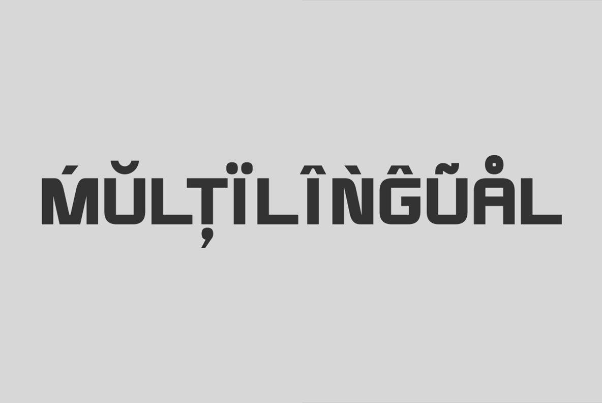 Modernhead Typeface