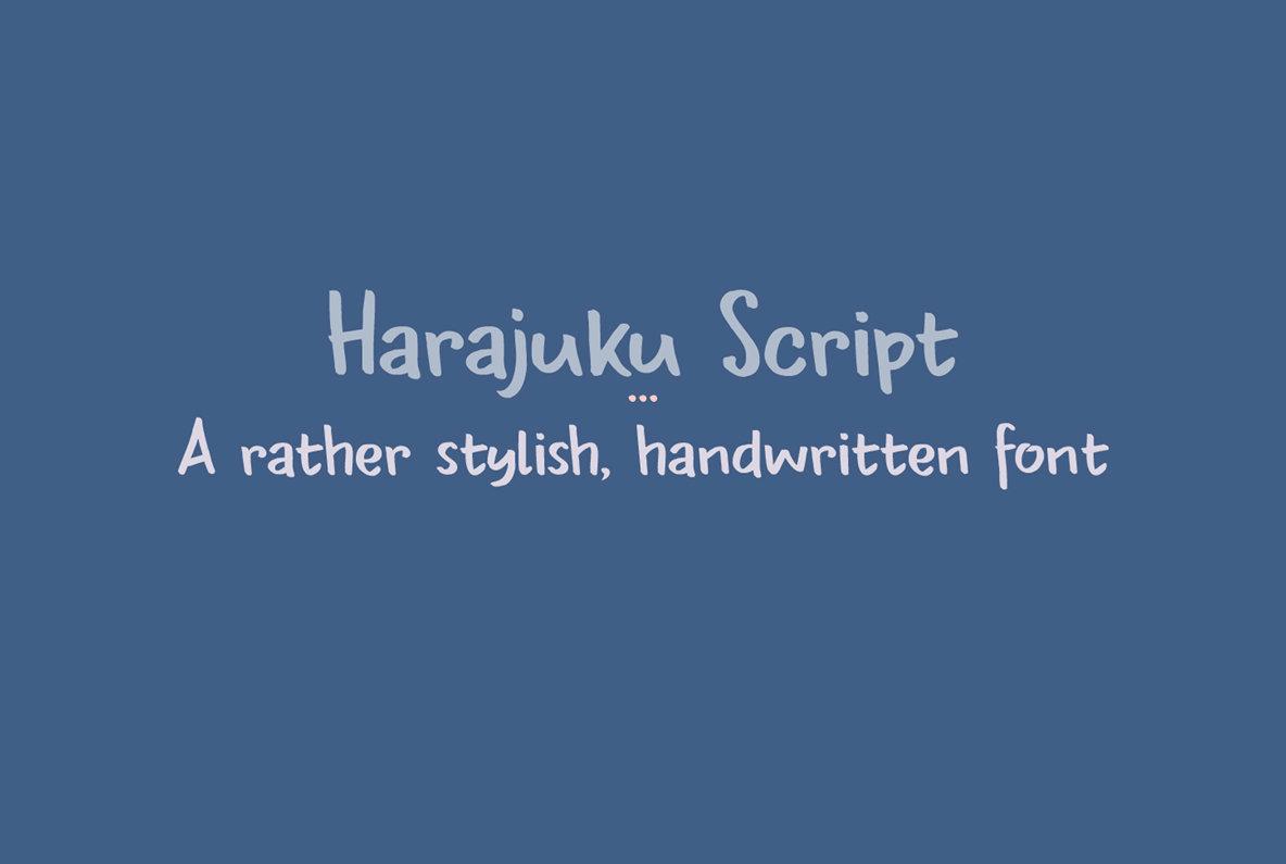 Harajuku Script