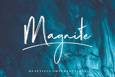 Magnite Brush Script