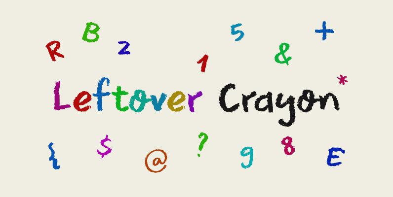 Leftover Crayon