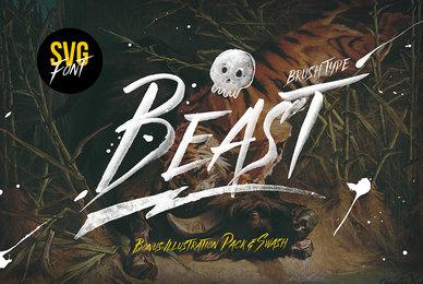 Beast SVG Font