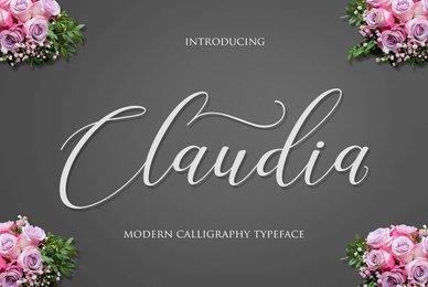 Claudia Script