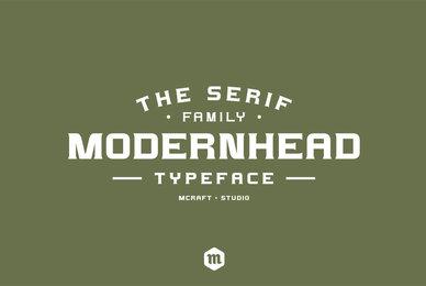 Modernhead Serif