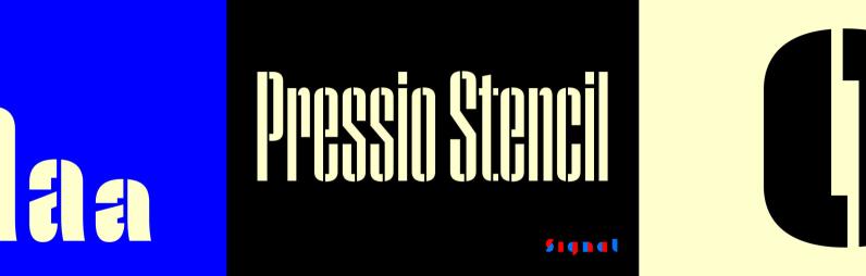 Pressio Stencil