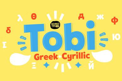 Tobi Greek Cyrillic