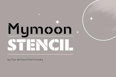 Mymoon Stencil