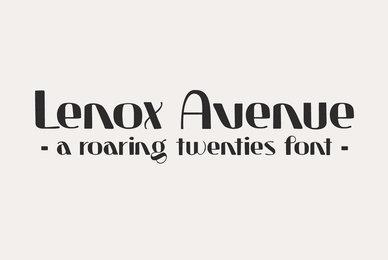 Lenox Avenue