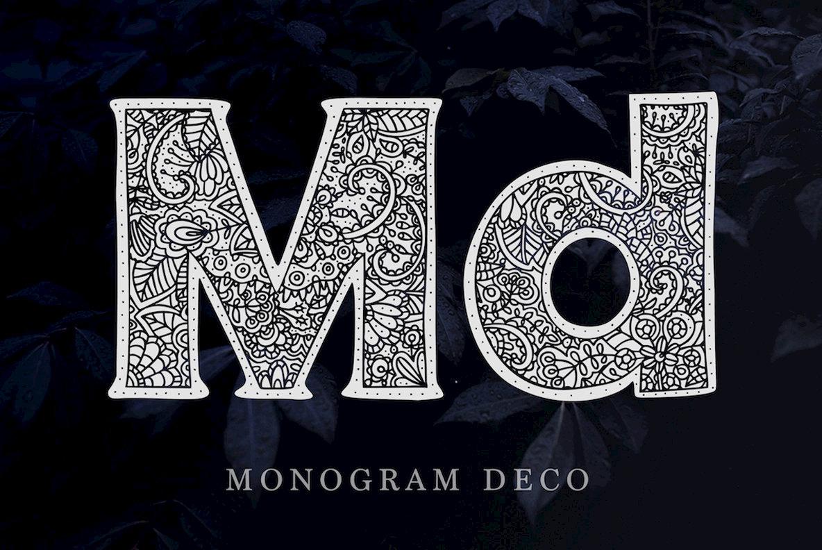 Monogram Font Family