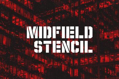 Midfield Stencil