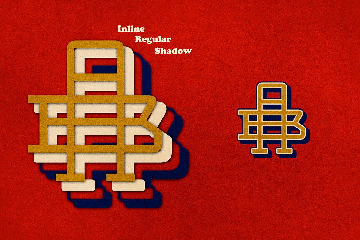Two Letter Monogram