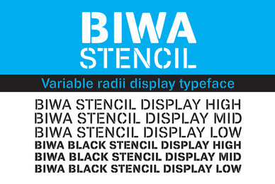 Biwa Stencil Display