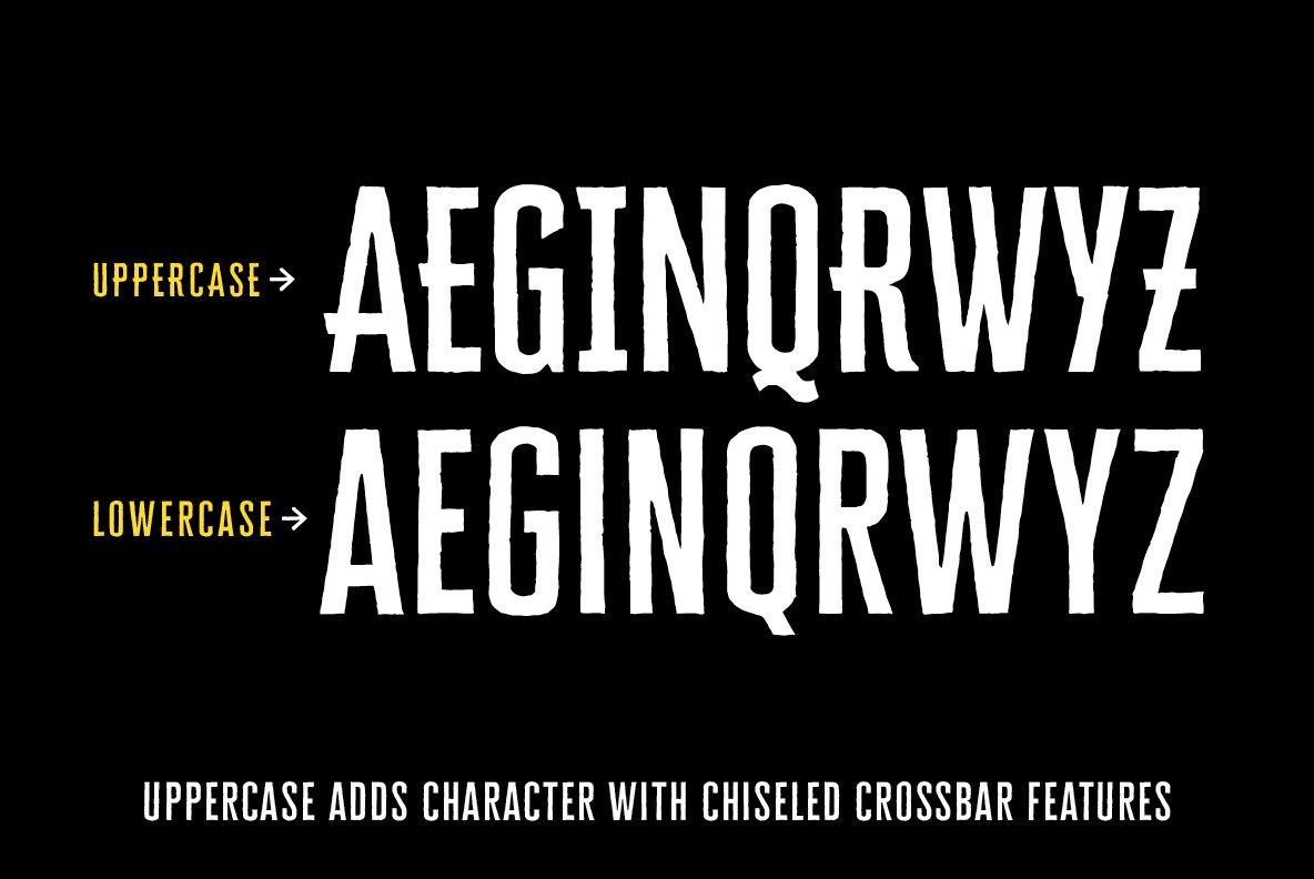 Cheddar Gothic Sans Two