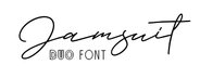 Jamsuit Duo Font