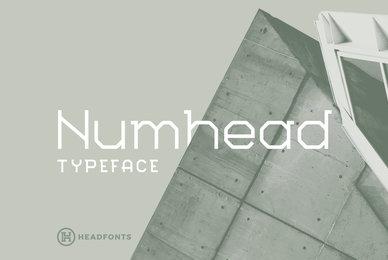 Numhead Typeface