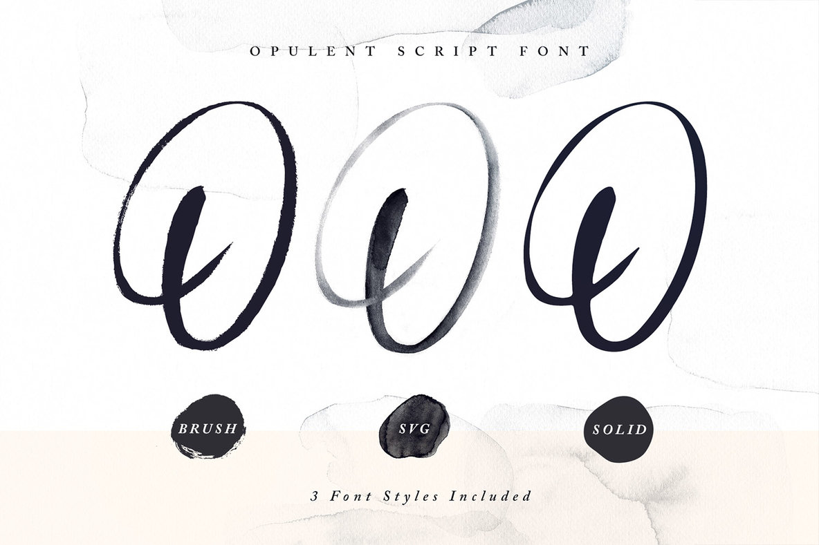 Opulent Font   SVG
