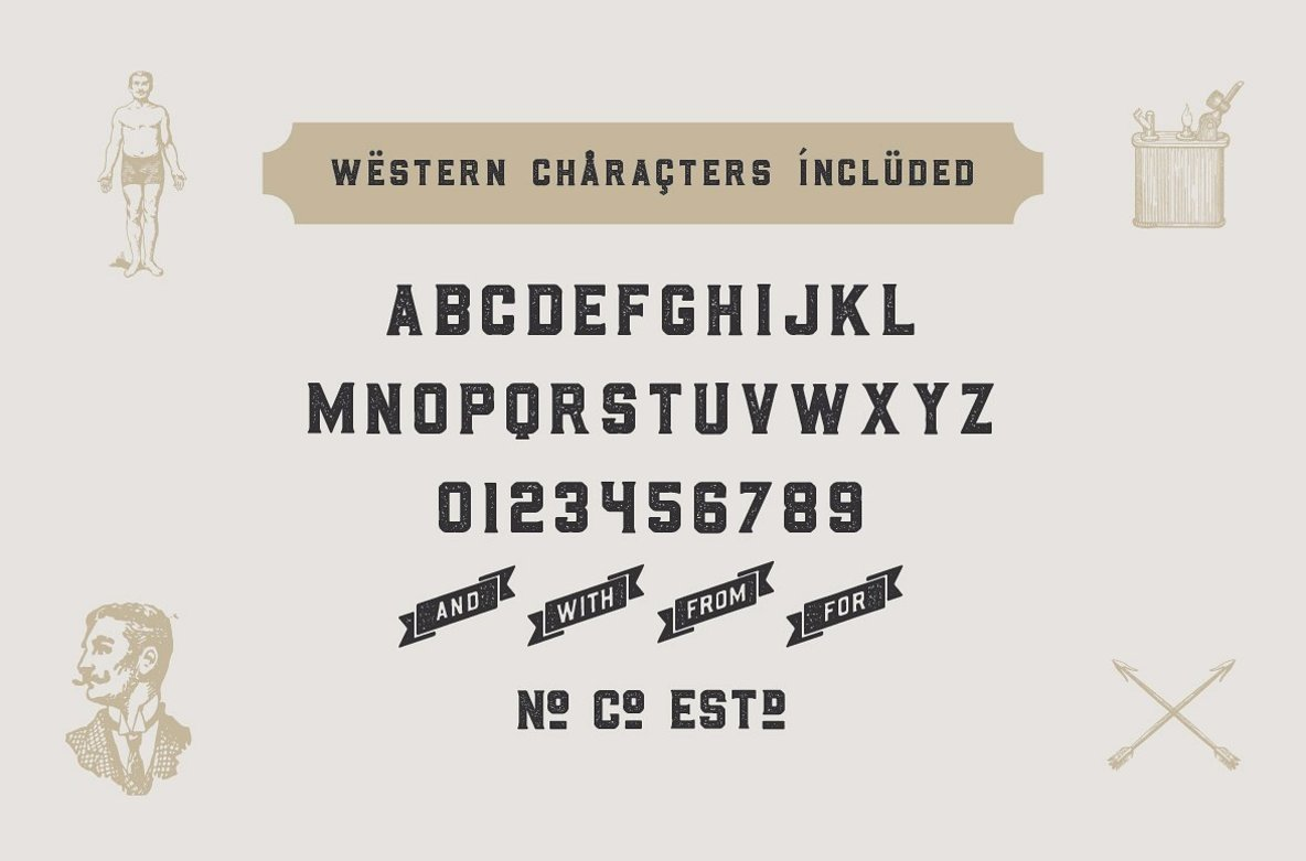 The Whiskey Font Collection