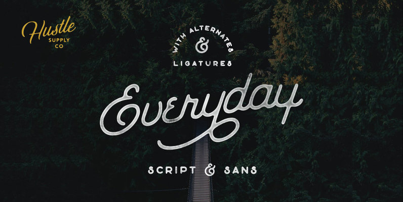The Everyday Font Duo