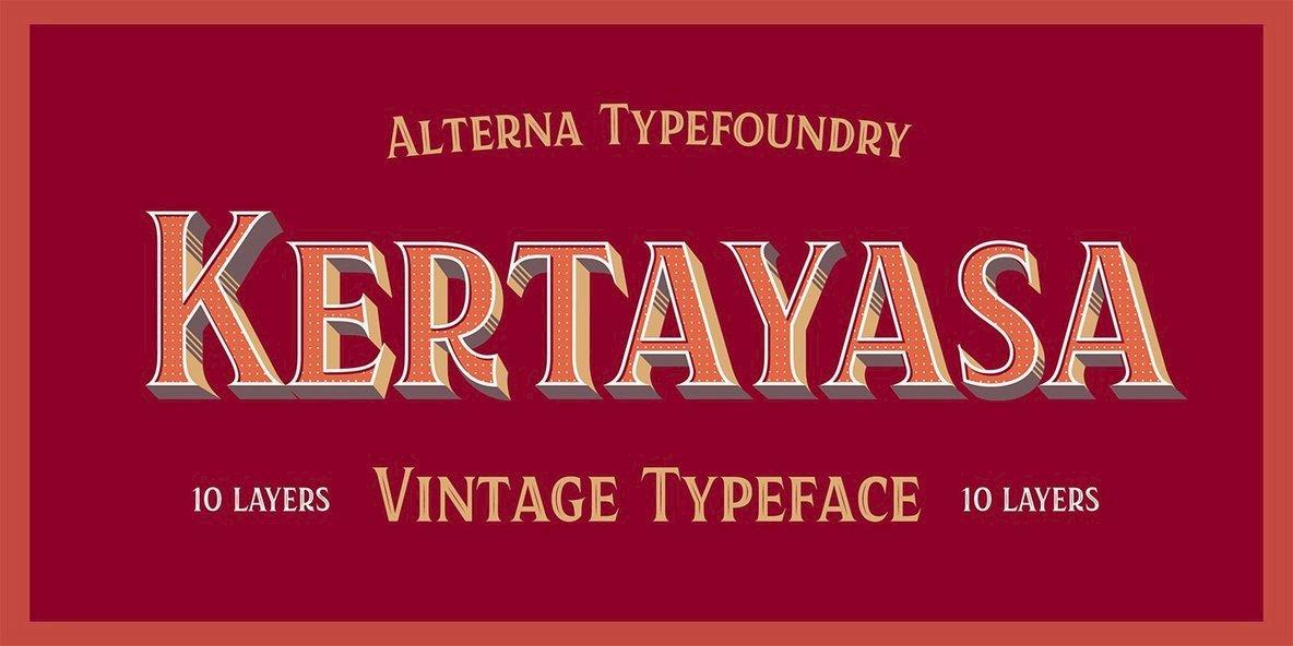 Kertayasa Typeface