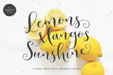 Lemons Mangos Sunshine