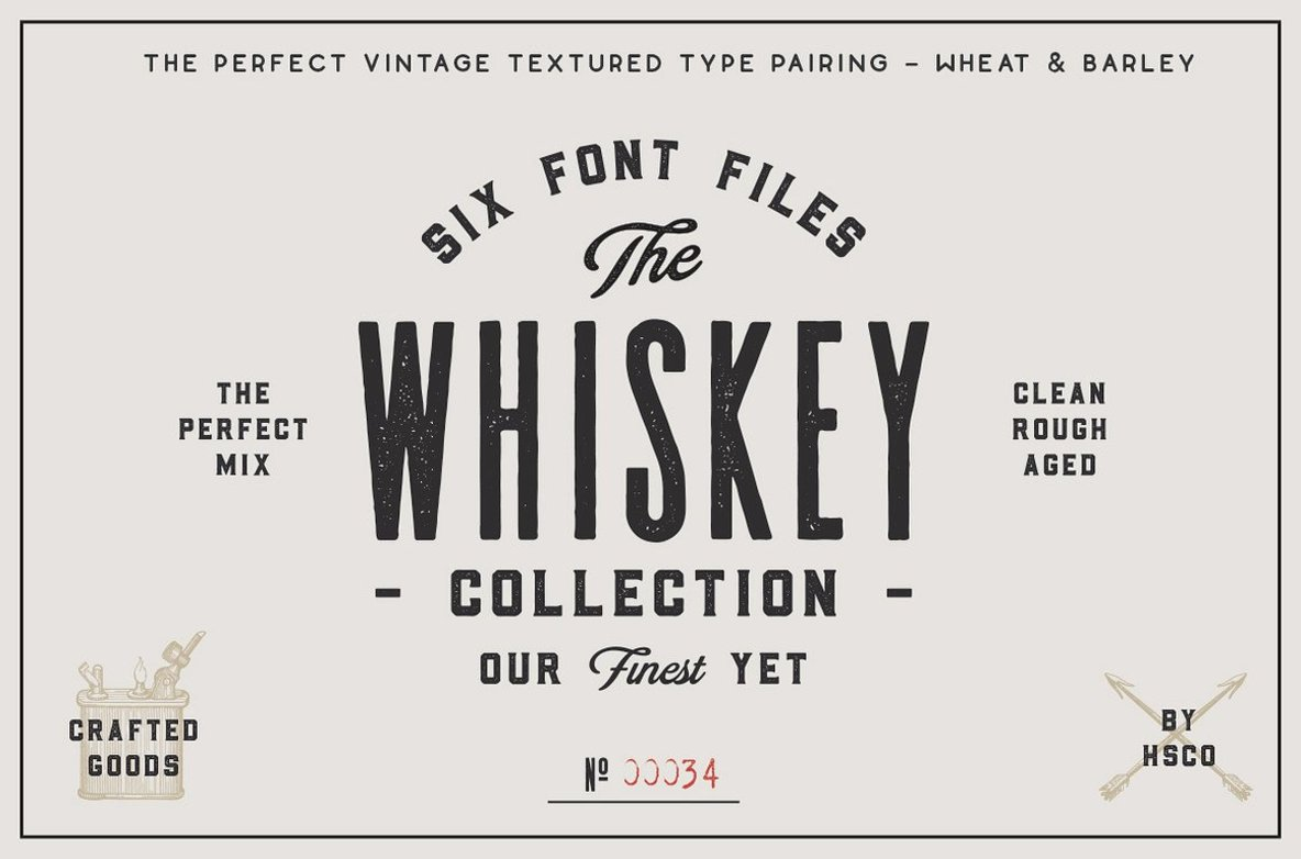 The Giant Bundle  50 Fonts