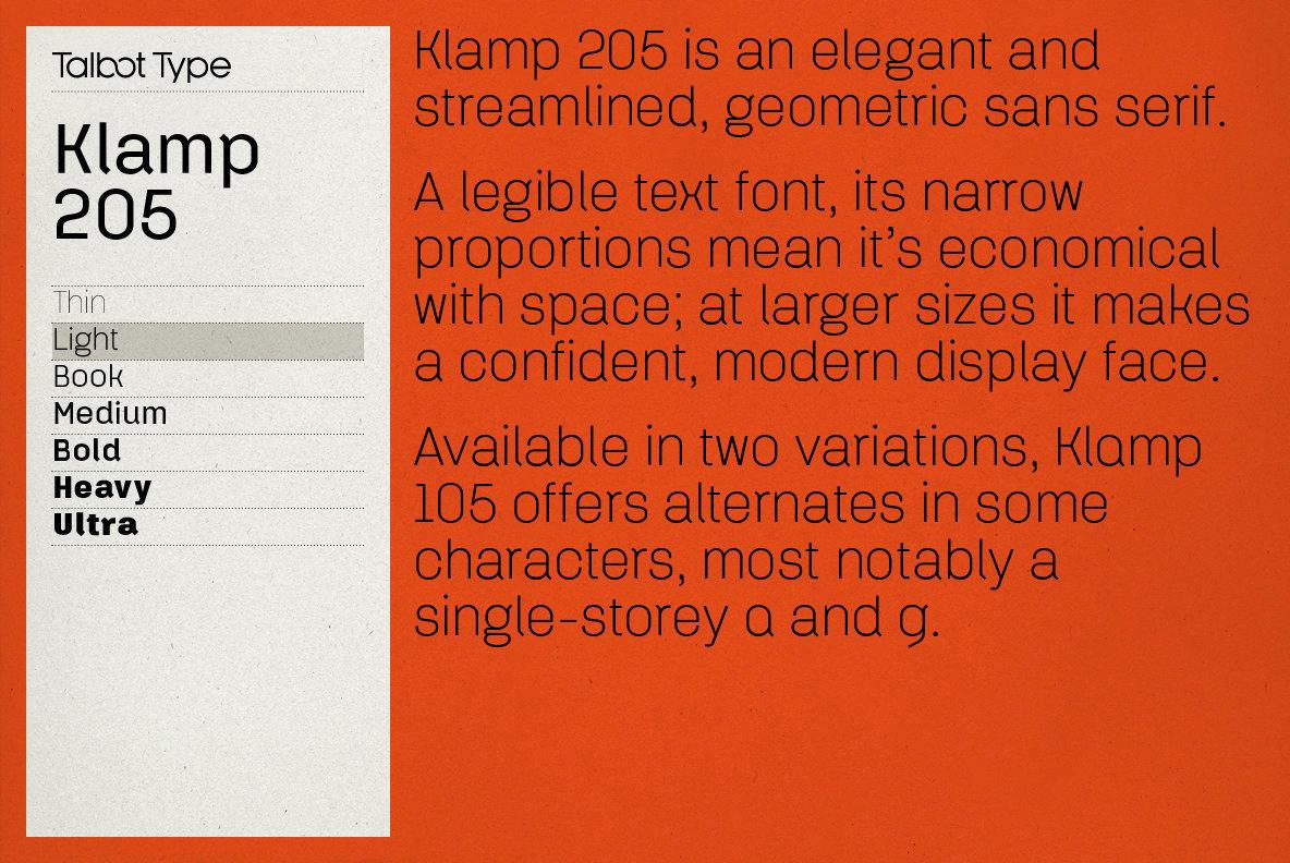 Klamp 205
