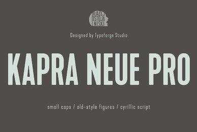 Kapra Neue Pro