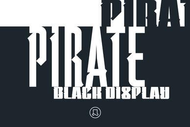 Pirate Black Display