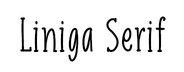Liniga Serif