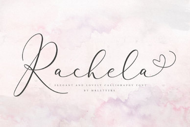 Rachela Lovely Calligraphy
