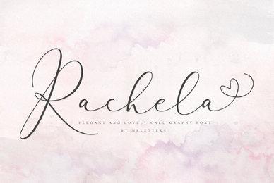 Rachela Lovely Calligraphy