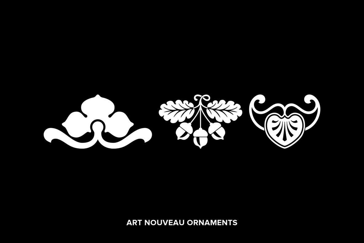 Art Nouveau Ornaments
