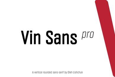 Vin Sans Pro