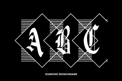 Diamond Monograms
