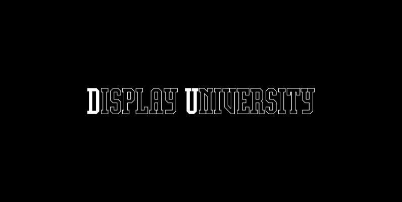 Display University