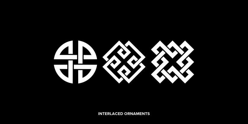 Interlaced Ornaments