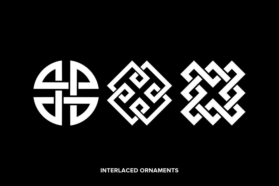 Interlaced Ornaments