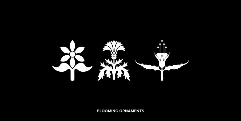 Blooming Ornaments