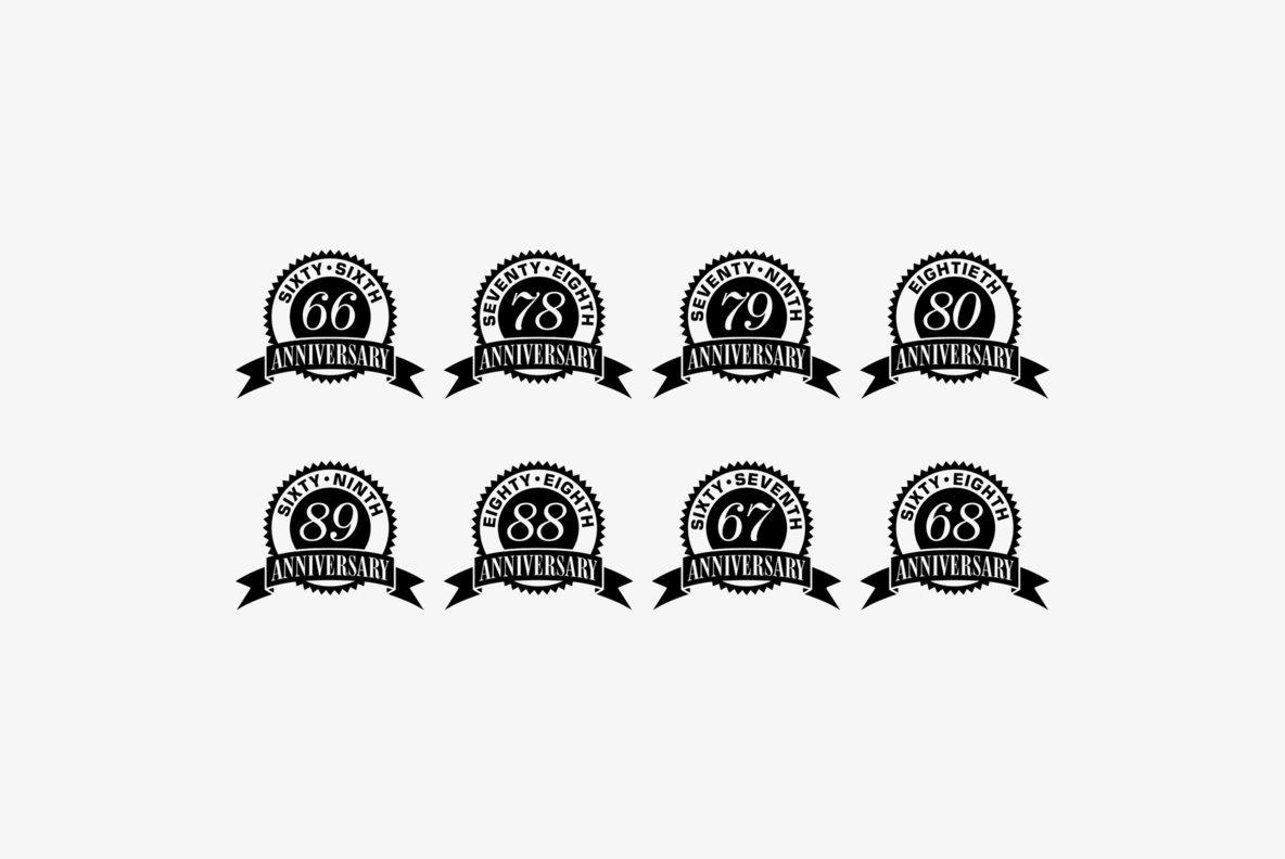 Anniversary Seals