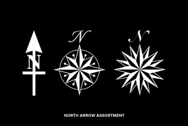 North Arrow Assortment