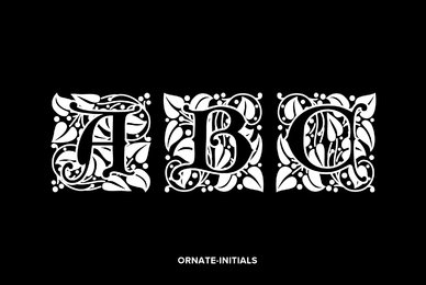 Ornate Initials