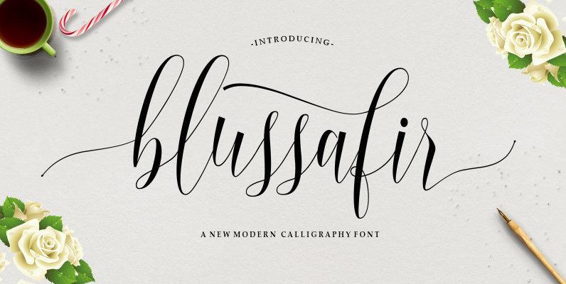 Blussafir Script