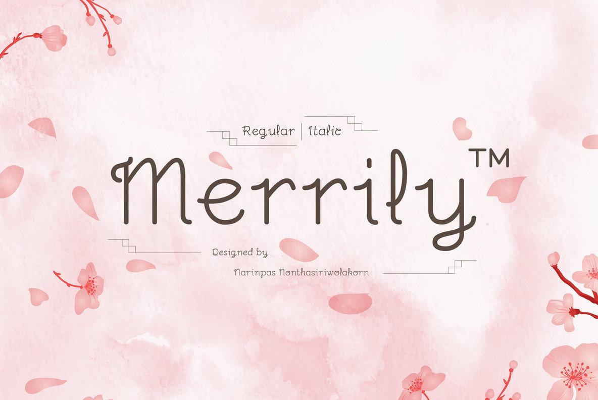 Merrily