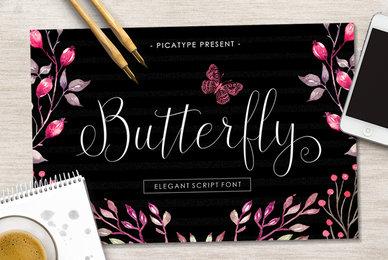Butterfly Script