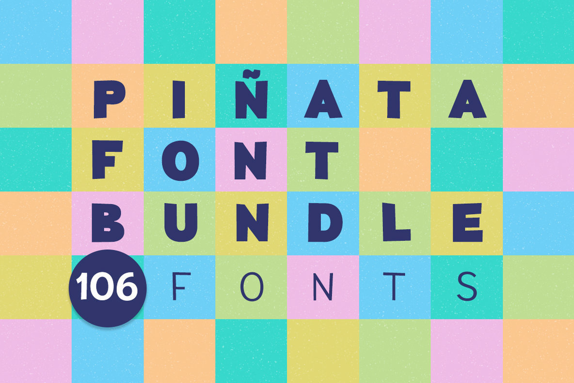 Pi  ata Font Bundle  106 Fonts