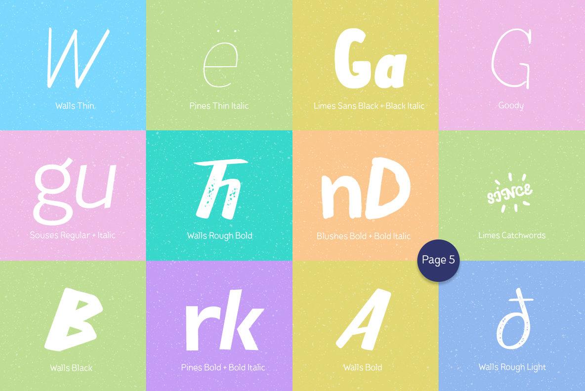 Pi  ata Font Bundle  106 Fonts