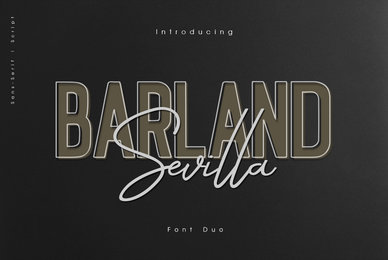 Barland Sevilla Font Duo