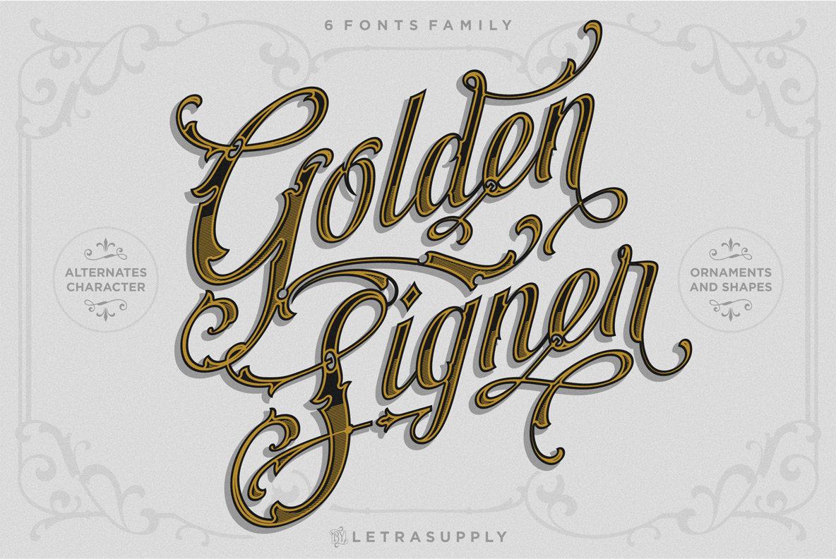 Golden Signer