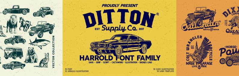 Harrold Font Family