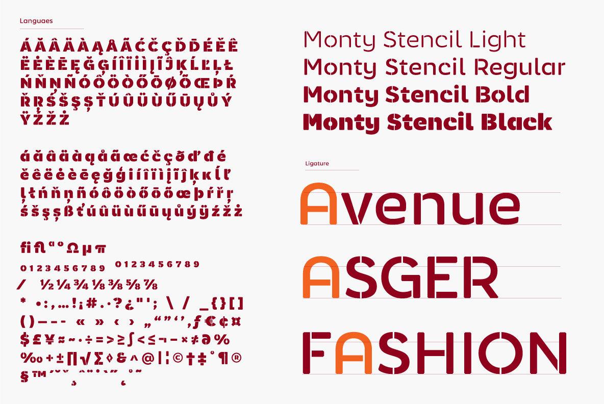 Monty Stencil